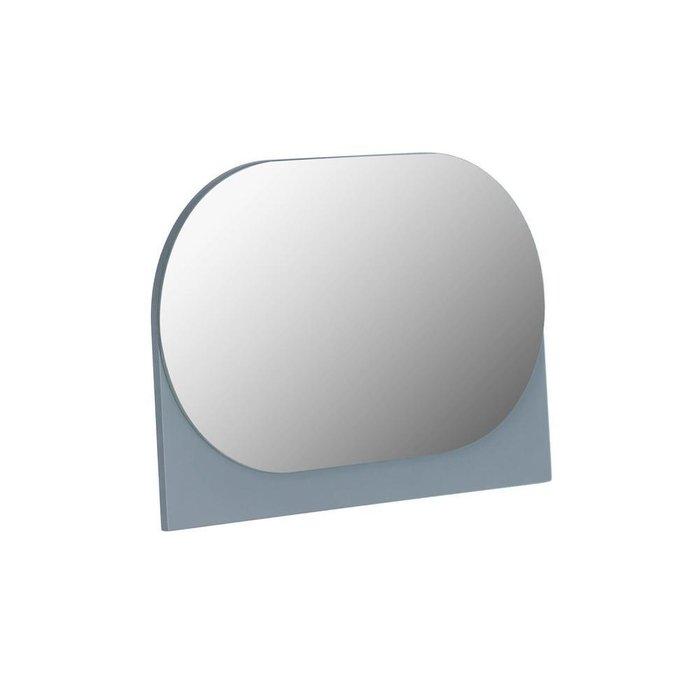 Настольное зеркало Mica серого цвета