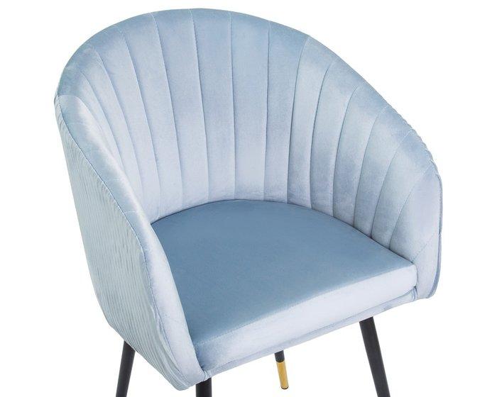 Стул обеденный Mary голубого цвета