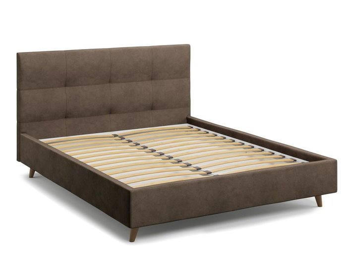 Кровать Garda 140х200 коричневого цвета