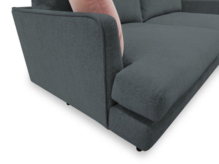 Диван-кровать Энди темно-серого цвета