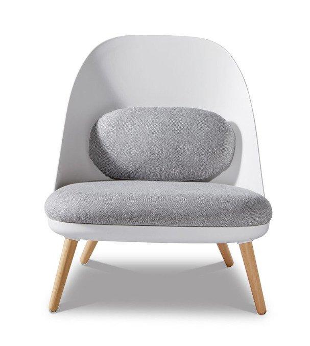 Кресло Noah white белого цвета