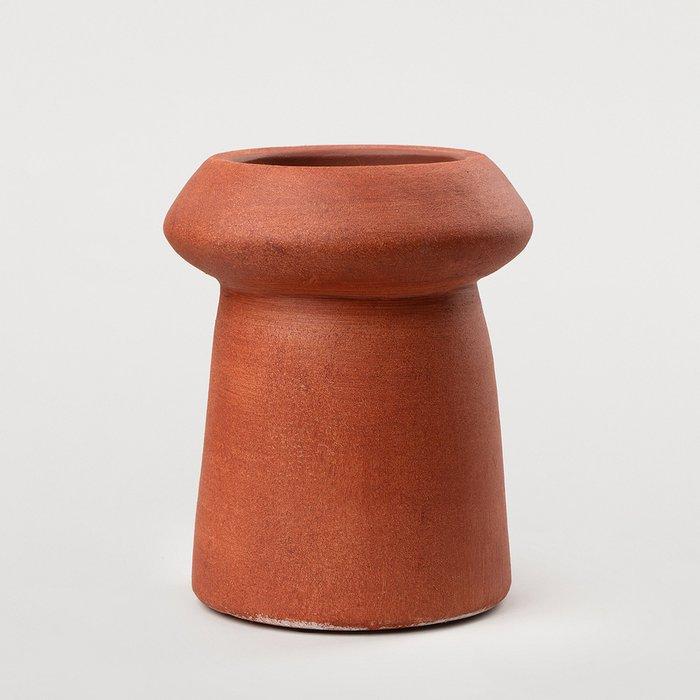 Ваза Ecija Rojo оранжевого цвета