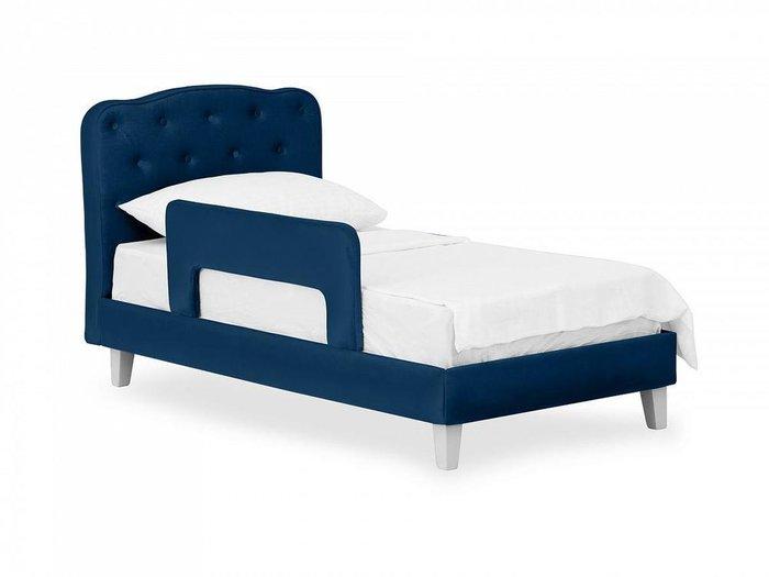Кровать Candy темно-синего цвета 80х160