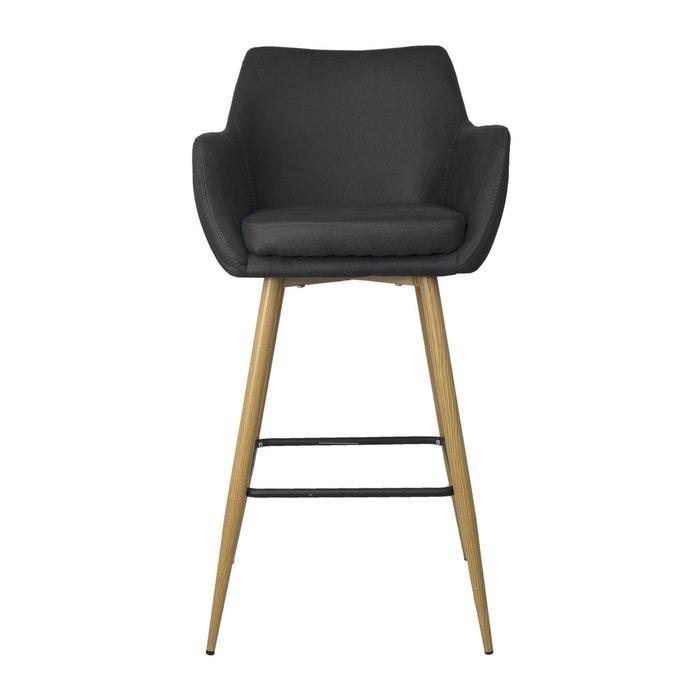 Барный стул Alter черного цвета