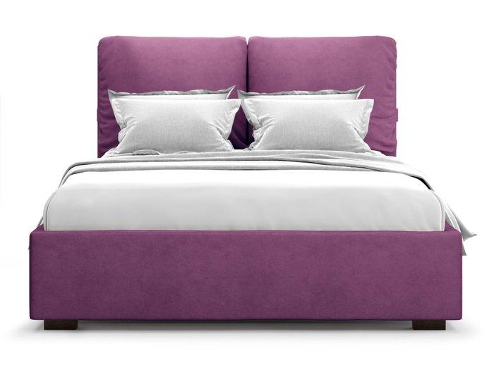 Кровать Trazimeno 180х200 пурпурного цвета с подъемным механизмом