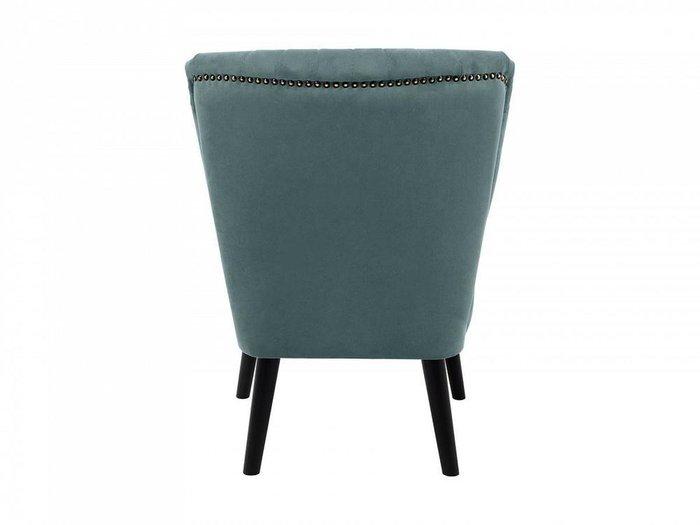 Кресло Barbara серо-синего цвета