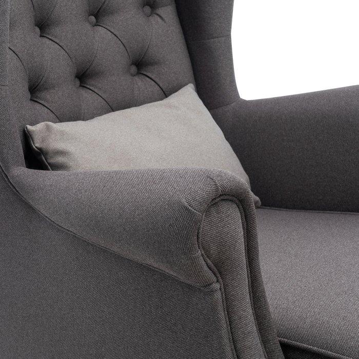 Кресло Винтаж серого цвета