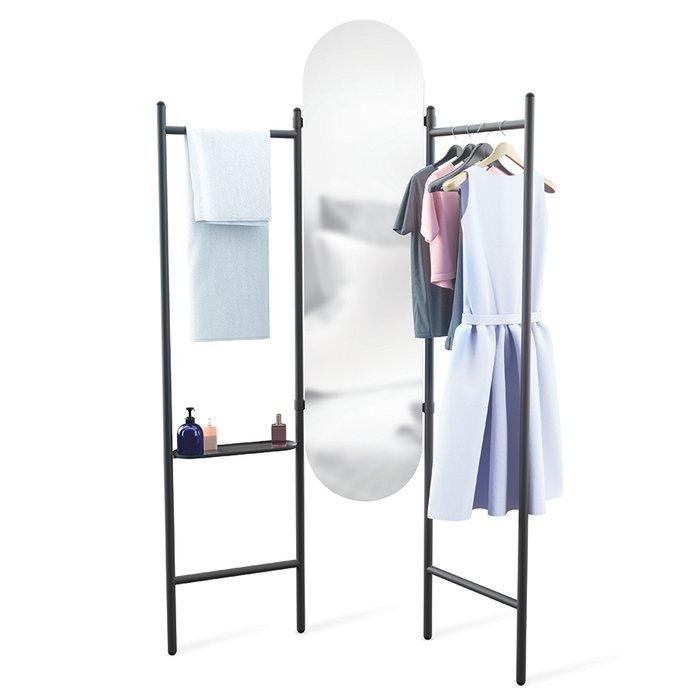 Напольное зеркало с вешалками vala