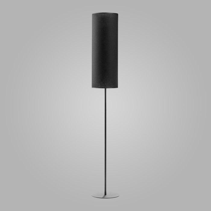 Напольный светильник Luneta New черного цвета