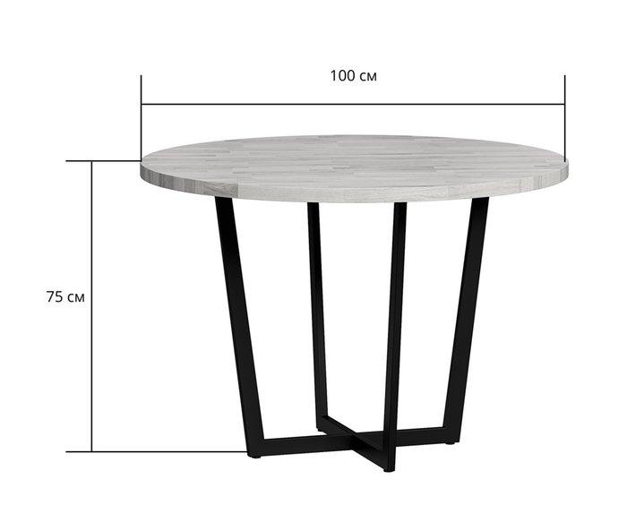 Стол обеденный Лондейл с серой столешницей