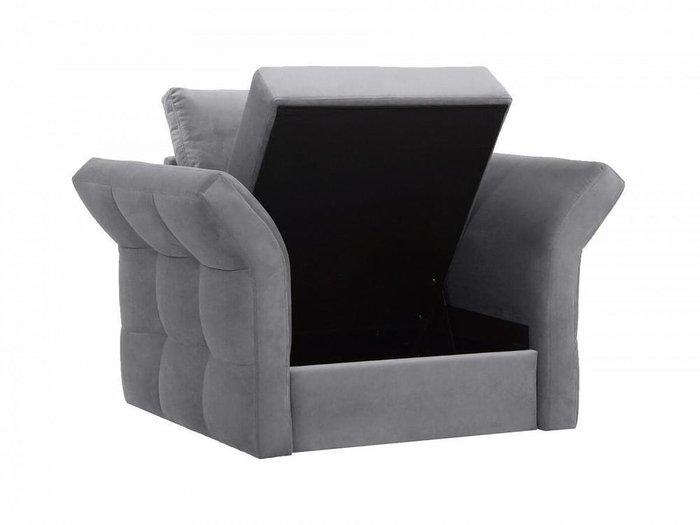 Кресло Wing серого цвета