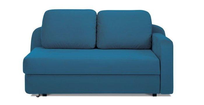 Кушетка-кровать Альта синего цвета