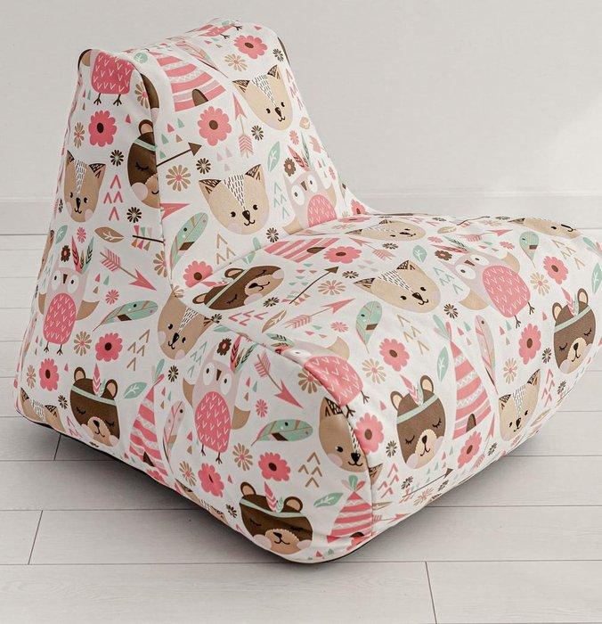Кресло детское Design  с цветным принтом