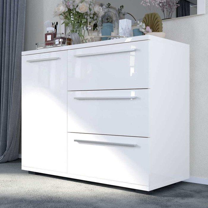 Комод Piano белого цвета