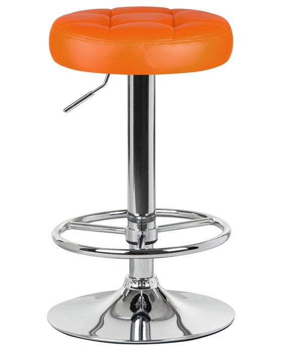 Табурет барный Bruno оранжевого цвета