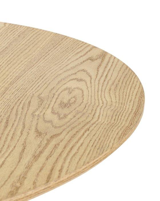 Обеденный стол Мемфис из металла и дерева