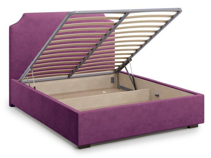 Кровать Izeo с подъемным механизмом 180х200 фиолетового цвета