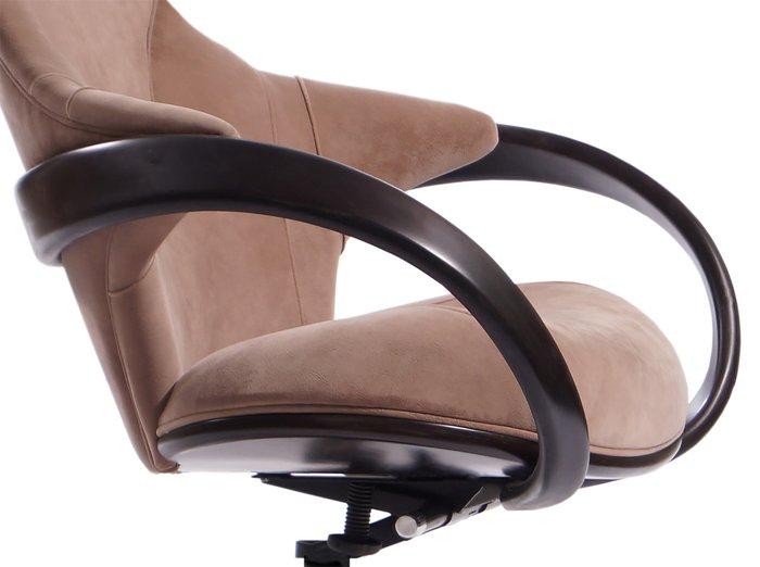 """Кресло """"Apriori R"""" с изящными подлокотниками из натурального дерева"""