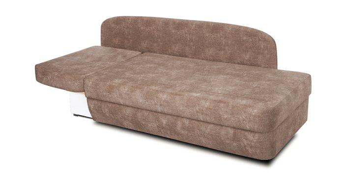 Кушетка-кровать Альта коричневого цвета