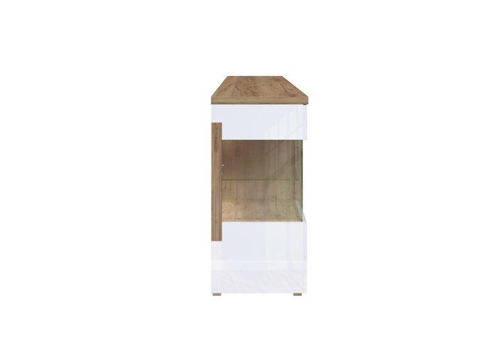 Комод с ящиками Дубай белого цвета