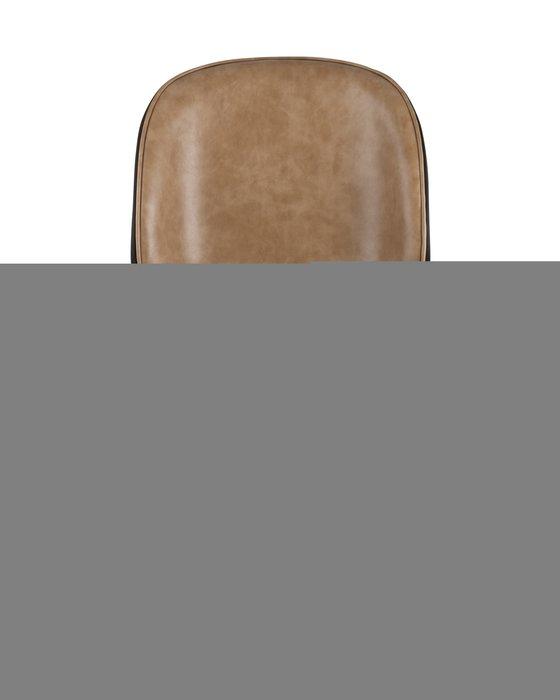 Стул Beetle PU коричневого цвета