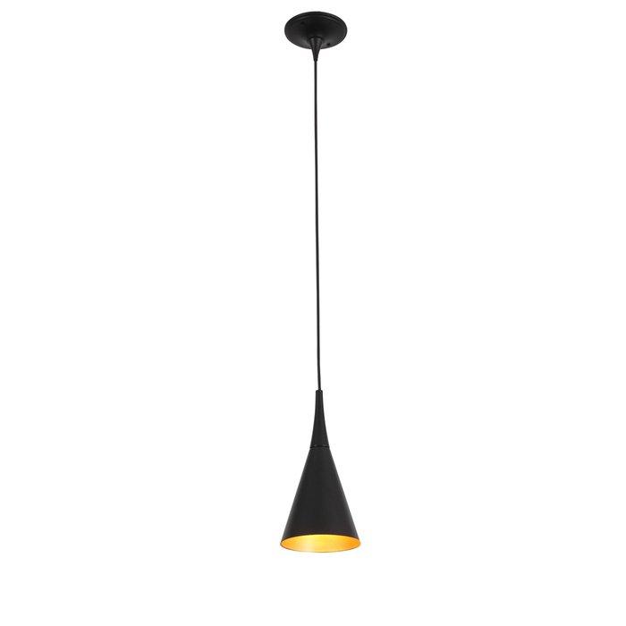 Подвесной светильник Gocce черного цвета