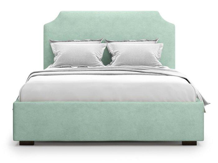 Кровать Izeo с подъемным механизмом 140х200 мятного цвета