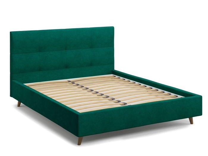 Кровать Garda 160х200 зеленого цвета