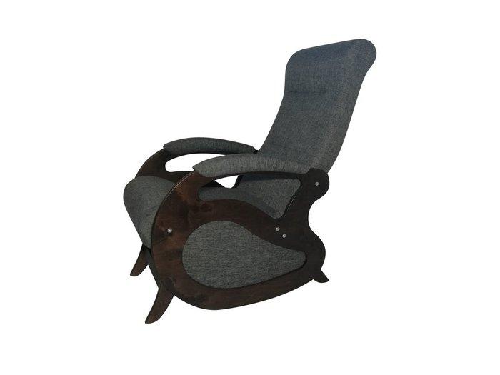 Кресло-качалка Маятник серого цвета