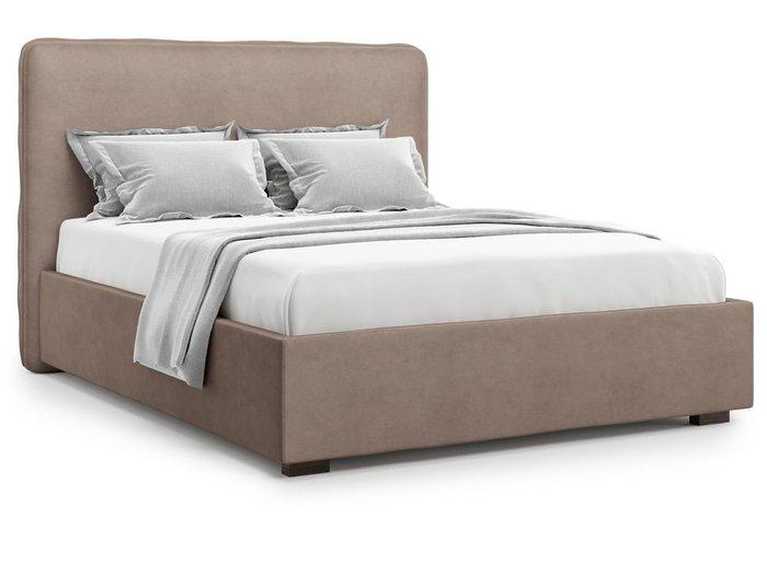 Кровать Brachano 180х200 темно-бежевого цвета