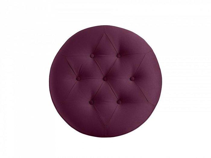 Пуф Barrel пурпурного цвета