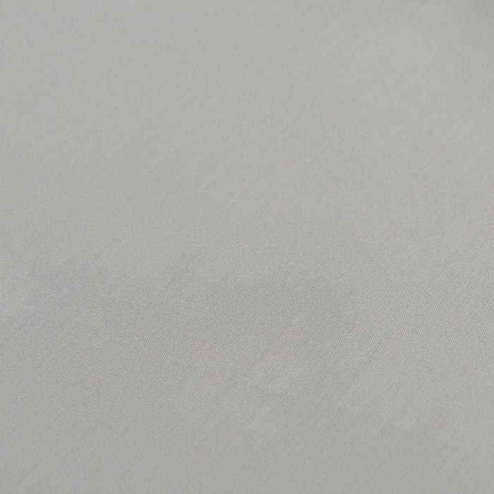 Простыня круглая на резинке из сатина светло-серого цвета 75х75х20