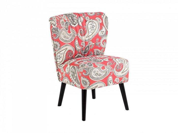 Кресло Barbara с ножками из массива дерева