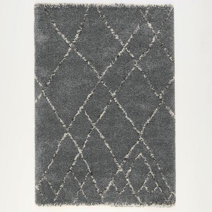 Ковер Rabisco в берберском стиле темно-серого цвета 120x170