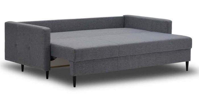 Диван-кровать Ирсен темно-серого цвета