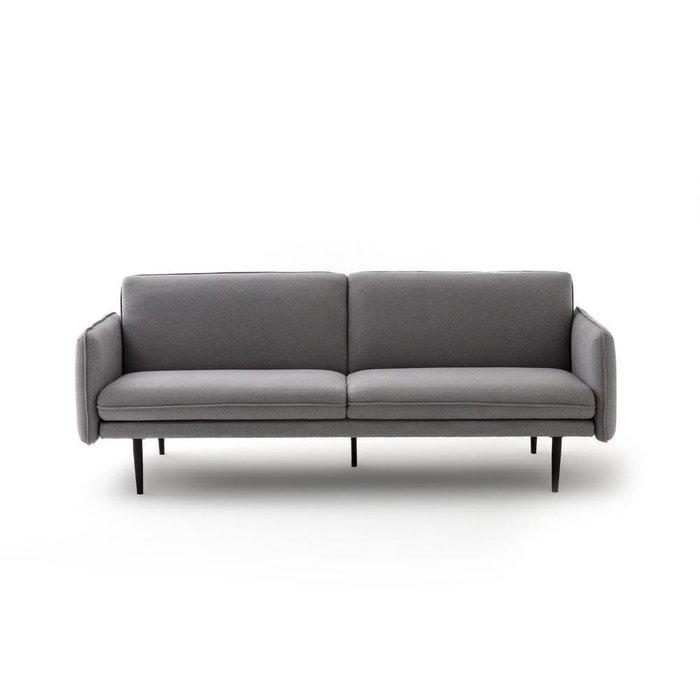 Диван-кровать прямой Pillow серого цвета