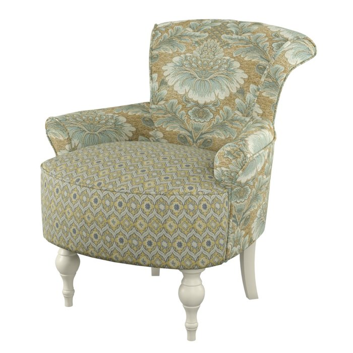 Кресло Azalea серо-зеленого цвета