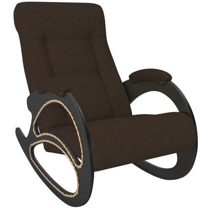 Кресло-качалка Модель 4 черного цвета