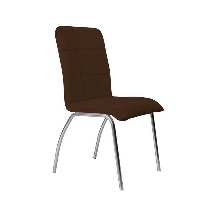 Кухонный стул София №5 Хром коричневого цвета