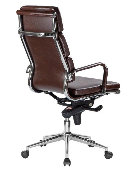 Офисное кресло для руководителей Arnold коричневого цвета