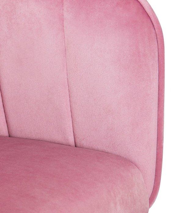 Стул барный Darcy розового цвета