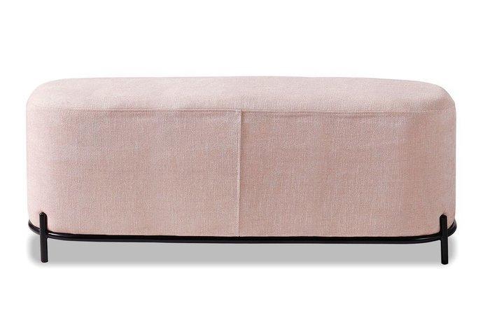 Банкетка Coco L розового цвета
