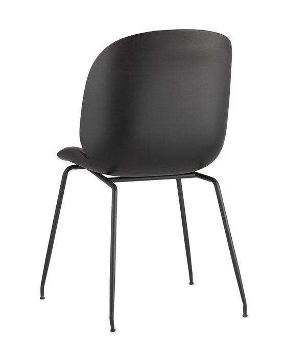 Стул Beetle PU темно-коричневого цвета