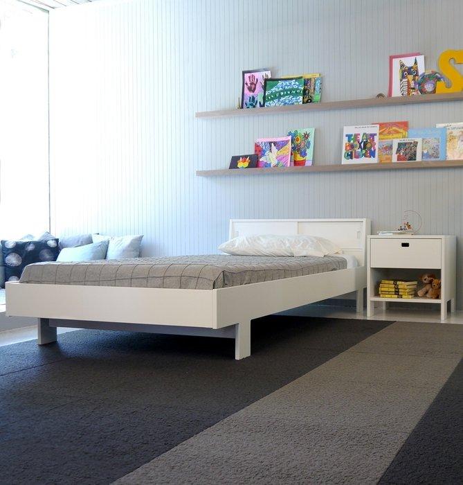 детская кровать Eicho белая Spot On Square 90х200