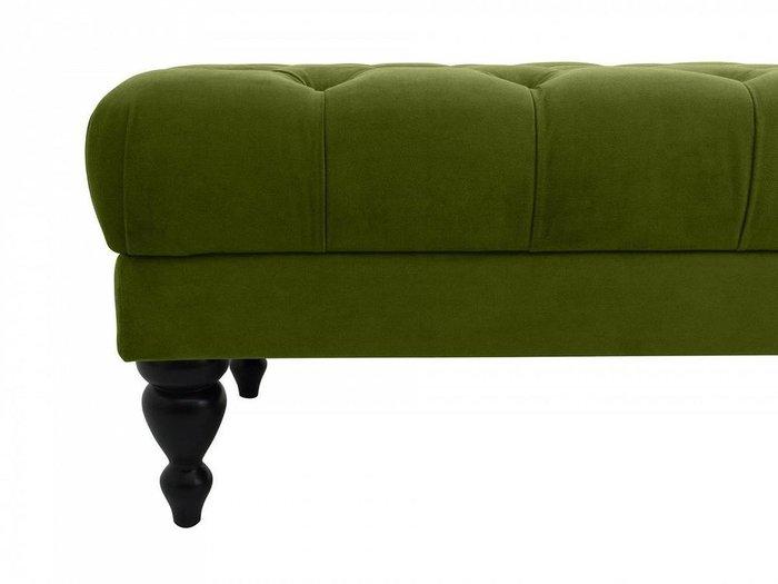 Банкетка Jazz зеленого цвета