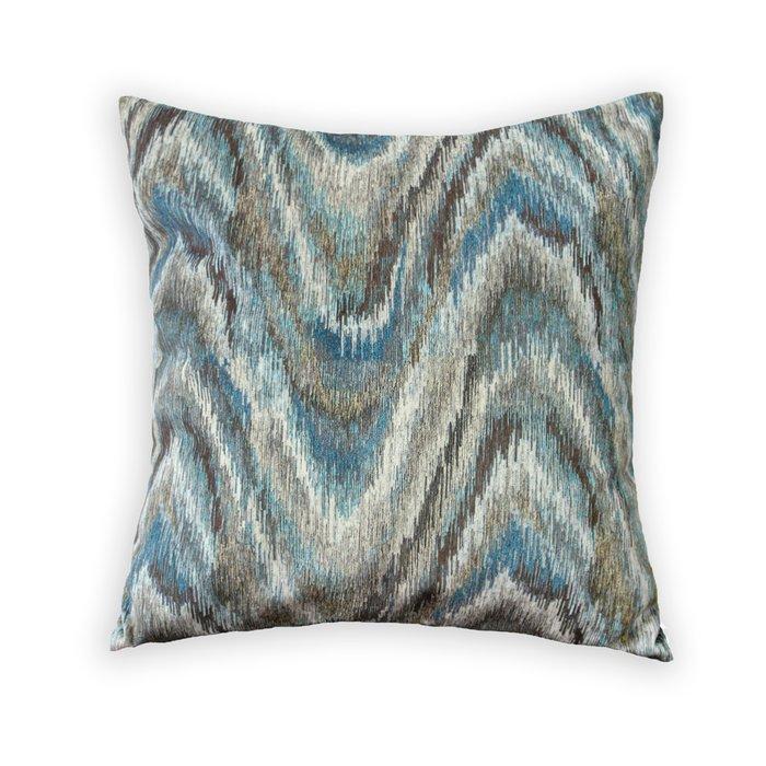 Декоративная подушка Briz серо-голубого цвета