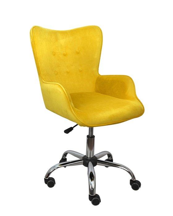 Компьютерное кресло Bella желтого цвета