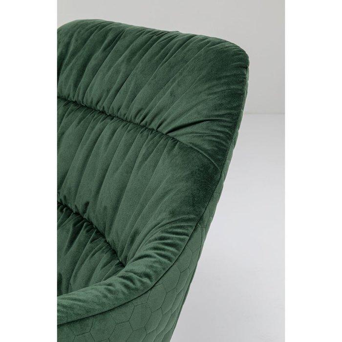 Кресло вращающееся Bristol зеленого цвета