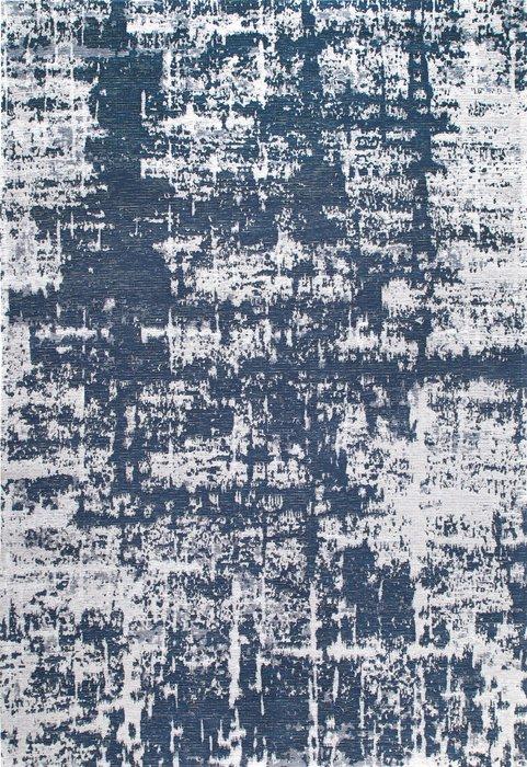 Ковер Elza Baily джинсово-синего цвета 135х200