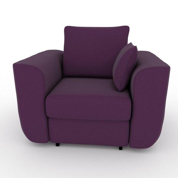 Кресло-кровать Stamford фиолетового цвета